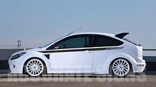 Rayas laterales gráficos para caber Ford Focus (par) coche Calcomanías Pegatinas