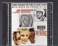un homme et une femme Soundtrack- Francis Lai-Made In France-CD
