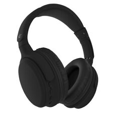 KitSound Slammers Wireless Bluetooth Over-Ear Headphones - Black