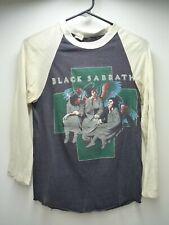 Vintage Original BLACK SABBATH 1980 Heaven Hell Dio Iommi M Tour Concert T-Shirt