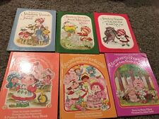 Lot Of 6 Books Strawberry Shortcake  Hardcover Childrens Book Vintage 80's