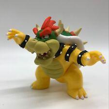 "New Super Mario Bros. Bowser Koopa Plastic Figure PVC Doll Toy 4"""