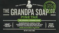 The Grandpa Pine Tar Soap, 4.25 Ounce.