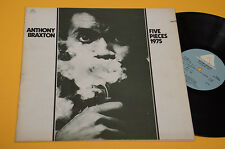ANTHONY BRAXTON LP FIVE PIECES TOP FREE JAZZ 1°ST ORIG USA 1975 EX ! AUDIOFILI