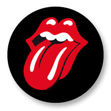 Pin Button Badge Ø38mm Rolling Stones Tongue Langue UK Mick Jagger The Stones