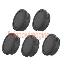 5 x Rear Lens Cover + Camera Body Cap for Canon 1500D 1300D 1200D 1100D 1000D