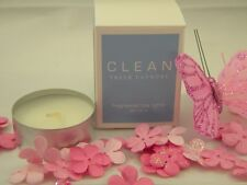 New Clean Fresh Laundry Tea Light Candles Set of 3Tealights Made In USA