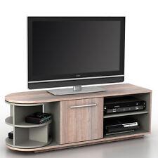 Mobile porta TV tavolino salotto Arau T729 MDF 40x120x45cm legno chiaro