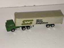 "Yatming COE Silver Wheel Freightlines Semi Truck 6.25"" Diecast 1:100 Scale Model"