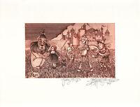 Journey To Oz -John Anthony Miller Giclee print (signed)