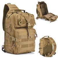 20L Tactical Military Shoulder Bag Molle Rucksack Backpack Hiking Camping Travel