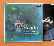 SXL 2305 WBg Holst The Planets Karajan Vienna Philharmonic 1962 EXCELLENT Decca