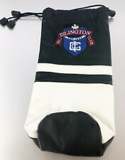 Sunfish Golf Leather Headcover Wine Bottle Holder ISLINGTON GOLF CLUB blem
