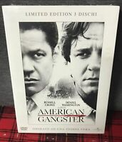 American Gangster 3 DVD Cofanetto Limited Edition Nuovo Crowe Washington