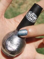 NEW! Nicole By OPI Texture Coat nail polish lacquer SILVER TEXTURE Top Coat