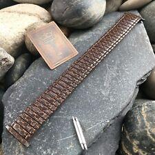 Speidel USA Snakeskin Enameled Old-Stock Expansion 16mm-22mm Vintage Watch Band