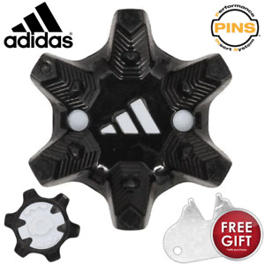 ADIDAS PINS GOLF SOFT SPIKES / GOLF CLEATS X 20 +FREE SPIKE WRENCH !!!!!!!!!!!!!