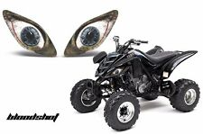 AMR Racing Headlight Graphic Decals Cover Yamaha Raptor 660 Parts 01-05 BLOODSHT