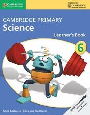 Cambridge Primary Science Stage 6 Learner's Book (Paperback or Softback)