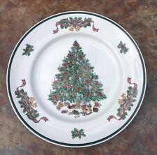 "Johnson Bros Staffordshire England  Victorian Christmas Dinner Plate 10 1/4"""