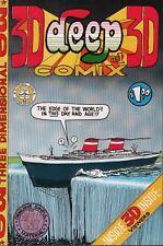 3D Deep Comix No.1 Kitchen Sink Underground Comic 030518DBC
