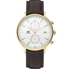 Danish Design IQ45Q975 Men's Koltur Brown Chronograph Wristwatch