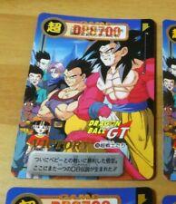 DRAGON BALL Z GT DBZ HONDAN PART 29 CARD REG CARTE 168 MADE IN JAPAN 1997 NM