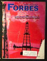 FORBES Magazine - Dec 1 1974 - THE OIL INDUSTRY / McDonnell Douglas / Genstar
