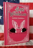 NEW Alice in Wonderland by Lewis Carroll Faux Leather Hardcover