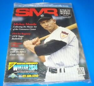 SMR psa MAGAZINE December 2014 MICKEY MANTLE 1978 Topps BASKETBALL set registry
