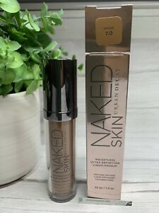 URBAN DECAY Naked Skin Ultra Definition Foundation Makeup Shade 7.0 NEW IN BOX