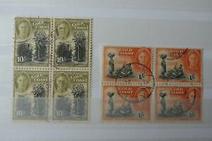 GB Stamps - Gold Coast - Small Collection - E2