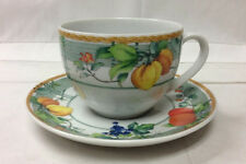 "WEDGWOOD HOME ""EDEN"" TEACUP & SAUCER PORCELAIN CHINA BRAND NEW MADE IN PORTUGAL"
