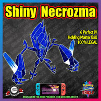 NECROZMA Shiny + Master Ball | 6IV | Pokemon Sword Shield [FAST DELIVERY]