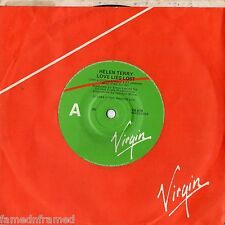 "HELEN TERRY - LOVE LIES LOST - 7"" 45 VINYL RECORD - 1984"