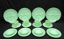 Vintage Jadeite Jadite Fire King Restaurant ware set. Minty Mint !!!! 24 Pieces