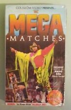 wwf coliseum MEGA MATCHES  VHS VIDEOTAPE NEW factory sealed & stamped