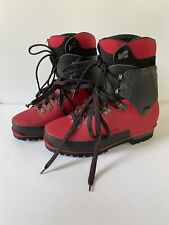 Lowa Vibram Red  247 Mountaineering Boots Size 7.5 Mens Gore-Tex