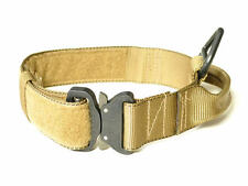 """Redline 1.75"""" Coyote Brown Dog Collar with Handle & Cobra Buckle Size 19"""" - 25"""""""