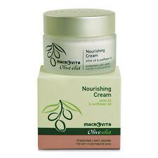 Olivelia Nourishing Dry Skin Cream, Organic Olive Oil, 50ml. Made in Greece.