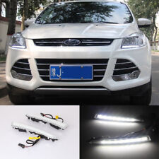 CAR LED DRL Driving Daytime Running Lamp DRL Light For Ford Escape 2013~2017