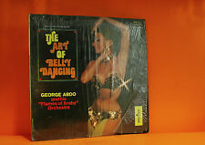 GEORGE ABDO - THE ART OF BELLY DANCING - MONITOR IN SHRINK VINYL LP RECORD -N