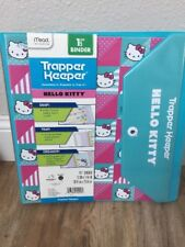 "Sanrio Hello Kitty Trapper Keeper 1.5"" Binder Mead [BA] BRAND NEW!"