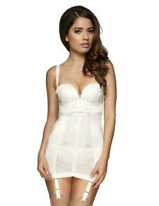 Gossard Retrolution Multiway Strapless Control Slip/Basque Shapewear 8510