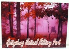 GETTYSBURG NATIONAL MILITARY PARK LONGSTREET PITZER'S WOODS POSTCARD NEW