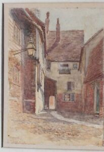 Mermaid Rye Sussex Water Colour Painting 1905