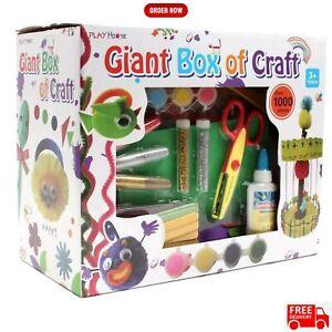 1000 Pcs Arts And Crafts Box Set Kit Children Kids Gift Boys Girls Toys