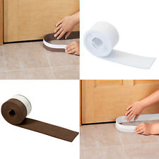 Door Sweep Draft Blocker Adhesive Cool Cold Warm Air Window Bottom Stopper