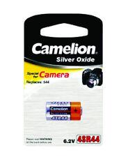 Camelion Silver Oxide SR44 Single Use Batteries