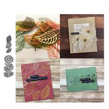 Leaves and Flowers Metal Cutting Dies Scrapbooking Card Making Embossing Craft